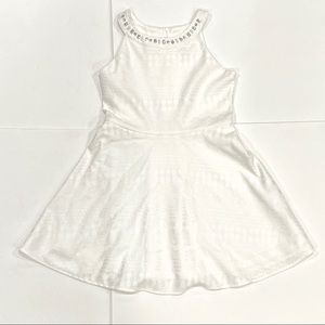 Children's Place White Lace Embellished Dress